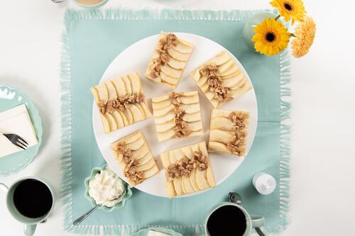 Apfel Walnuss Kuchen Rezept Von Backen De