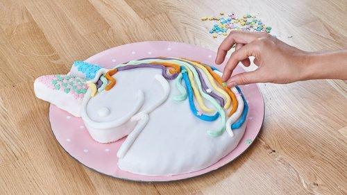 Einhorn Kuchen Rezept Von Backen De