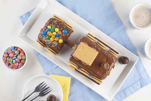 Eisenbahn Kuchen Rezept Von Backen De