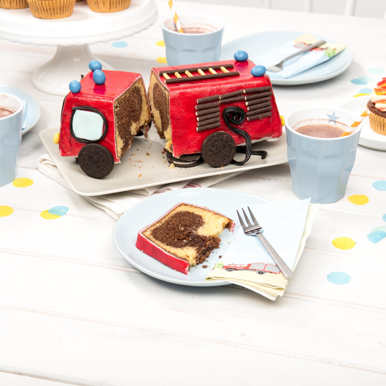Kuchen rezepte feuerwehrauto Feuerwehrauto Kuchen
