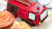 Feuerwehrauto Kuchen Rezept Von Backen De
