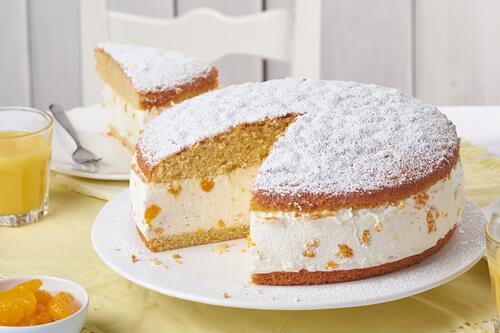 Fruchtige Kase Sahne Torte Rezept Von Backen De