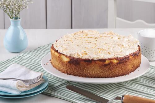 Goldtropfchen Torte Mit Kirschen Rezept Von Backen De