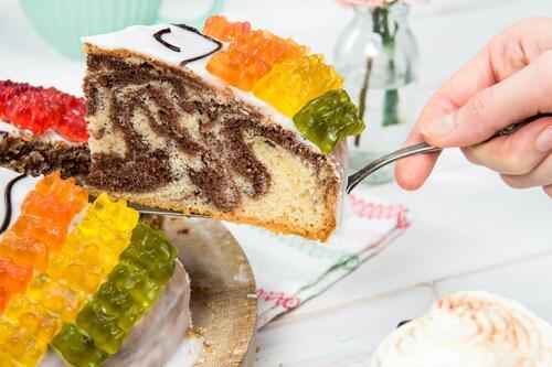Gummibaren Kuchen Rezept Von Backen De