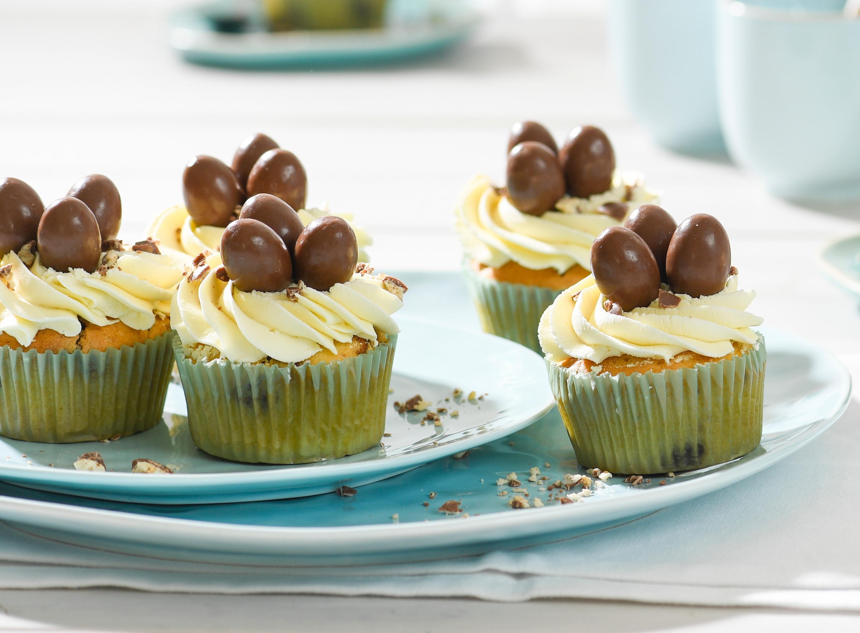 Kinder Schoko Bon Cupcakes Rezept Von Backen De
