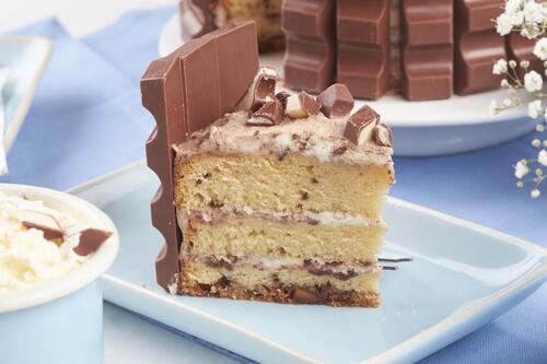 Kinderriegel Torte Rezept Von Backen De