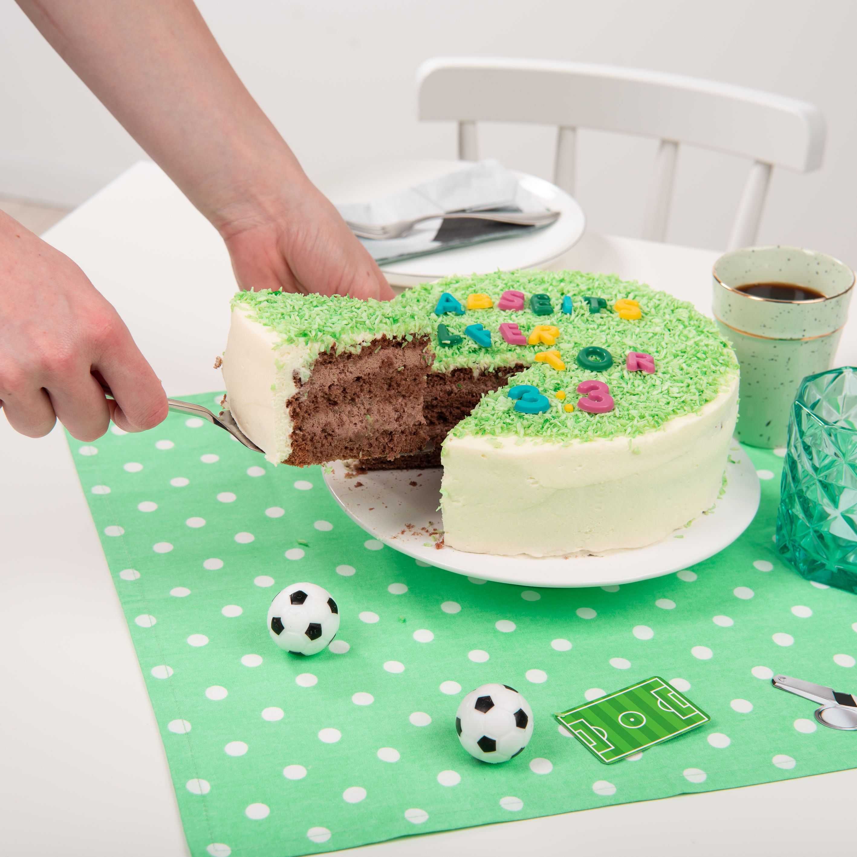 Kleine Fussball Torte