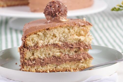 Kleine Rocher Torte Rezept Von Backen De