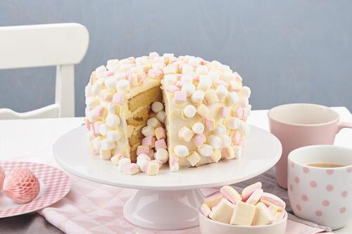 Marshmallow Inside Cake Rezept Von Backen De