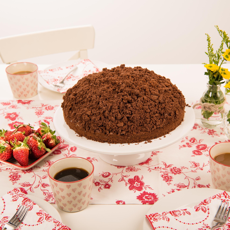 Maulwurfkuchen Mit Erdbeeren Rezept Von Backen De
