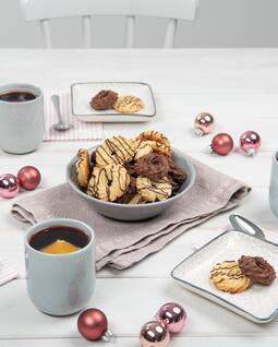 Weihnachtsplätzchen Spritzgebäck.Köstliche Weihnachtsplätzchen Rezepte Backen De