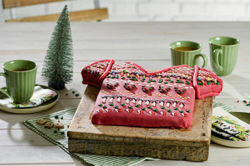 Ugly Sweater Kuchen